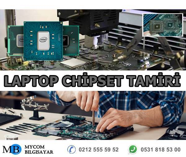 dell laptop chipset tamiri